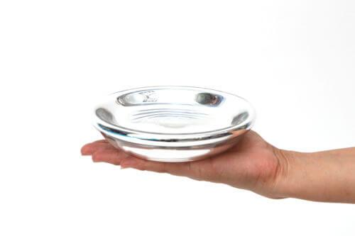 Чаша из зеркального Чешского стекла